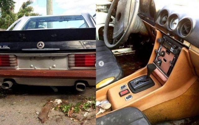 Продава се най-зловещият Mercedes