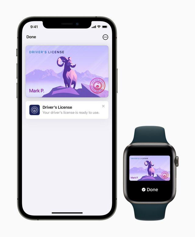 Потребители на Apple вече могат да използват дигитална шофьорска книжка