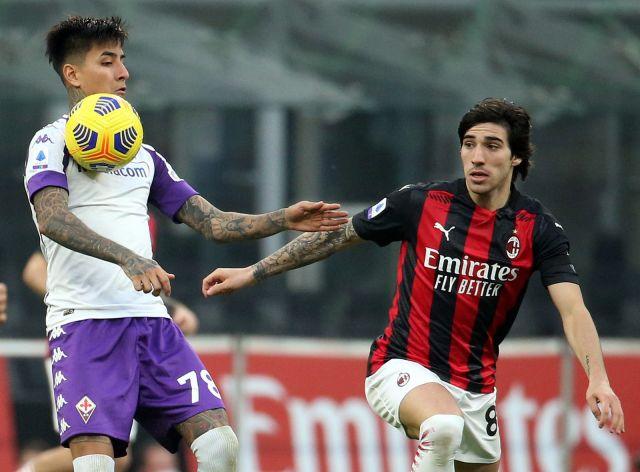 Милан с домакински успех срещу Фиорентина и увеличи преднината си на върха