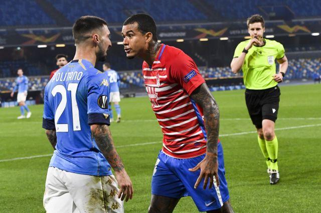 Наполи победи, но Гранада пише история в Лига Европа (ВИДЕО)