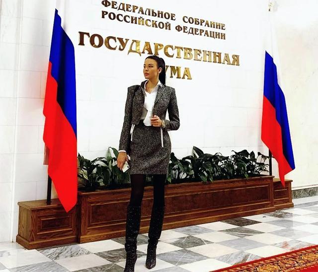 Русия се диви на колата на депутатска помощничка
