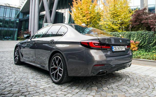 Тествахме обновената  пета серия на BMW