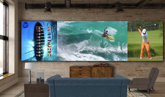 LG показа 325-инчов телевизор с тегло от близо 1 тон