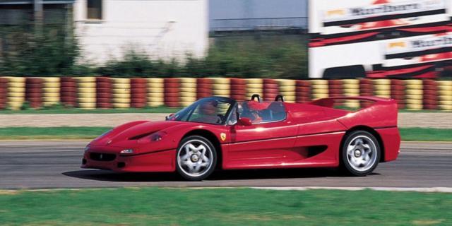 Десет стари, но много бързи коли от 90-те