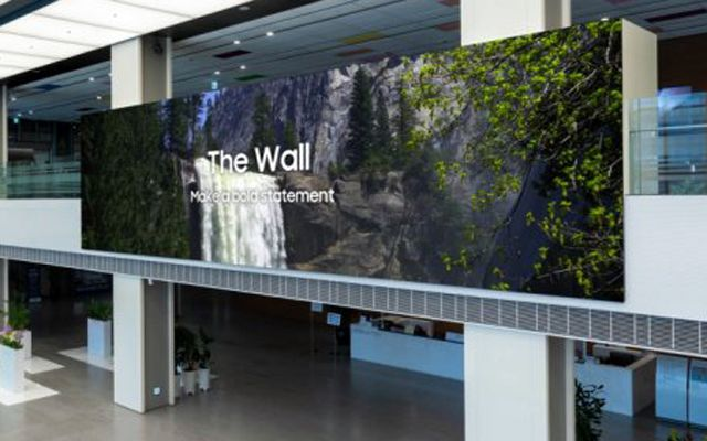 Samsung представи 1000-инчовия телевизор The Wall