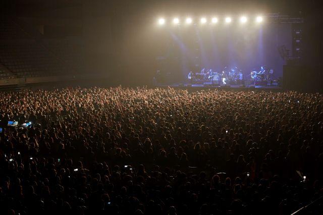 5000 души отиват на рок концерт след тест за Covid-19 (СНИМКИ)
