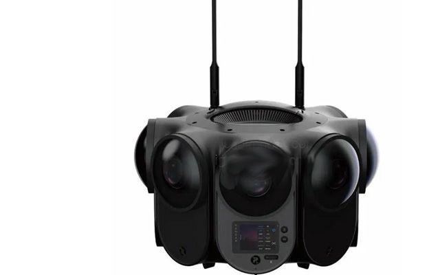 Първата в света 3D 360-градусова камера, способна да заснема 12K видео