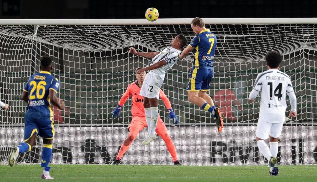 Ювентус с грешна стъпка, Роналдо с нов гол (ВИДЕО)