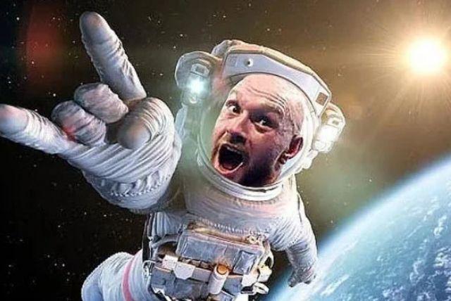 Тайсън Фюри ще плати 50 млн. долара за да сбъдне детската си мечта - да полети в Космоса