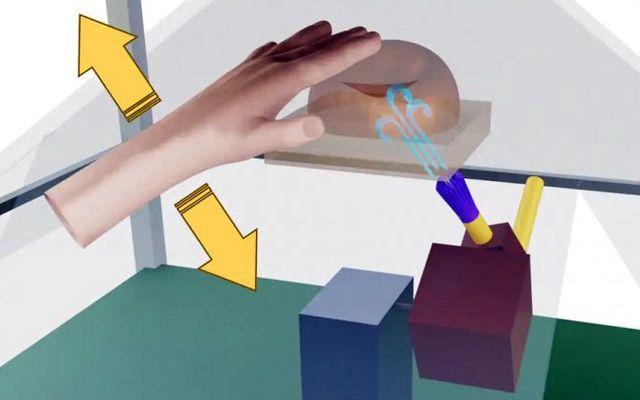 Създадена е холограма, която може да бъде докосната