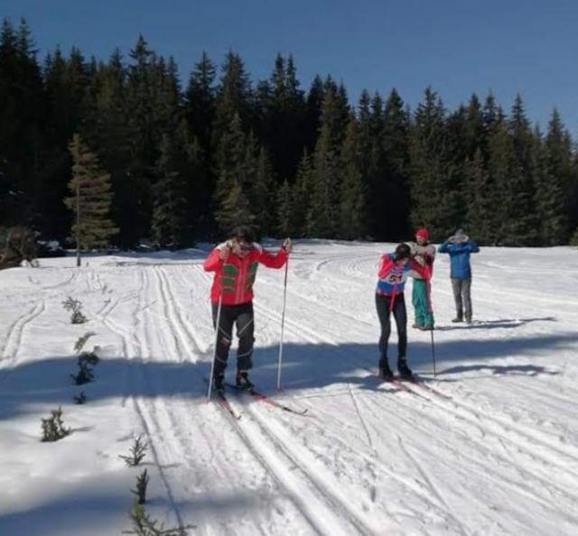 SPA столицата ни домакин на Националното състезание по ски за ученици с нарушено зрение