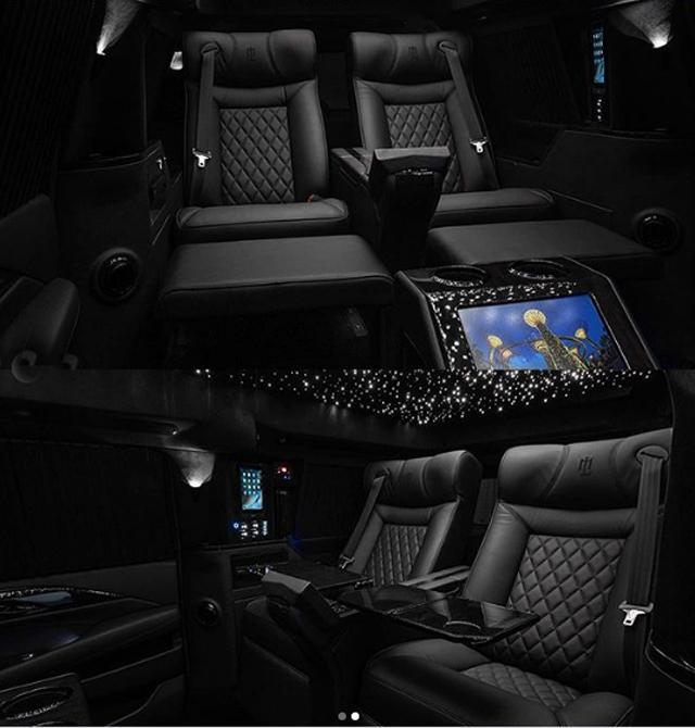 Новият Cadillac Escalade стана мобилен офис