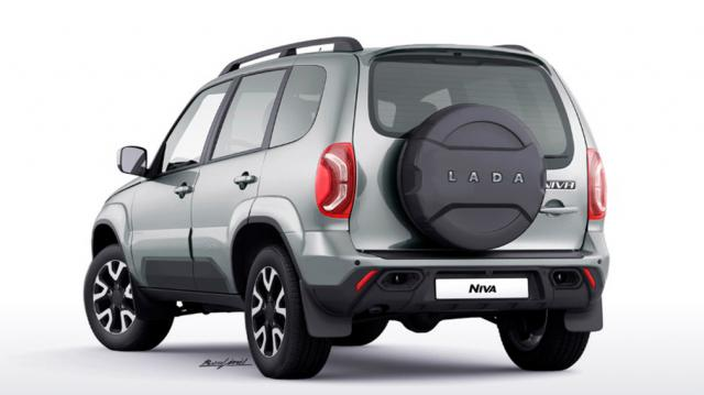 Първите изображения на рестайлинг версията на Lada Niva