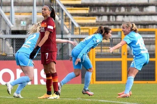 Родна футболистка продължава да блести в Италия - вкара гол на Рома (ВИДЕО)