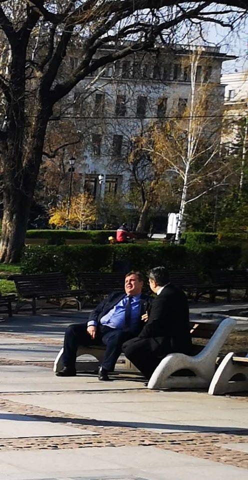 Красимир Каракачанов с нагла изцепка