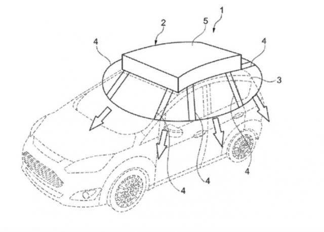 Ford патентова покривало за безплатно зареждане на гориво