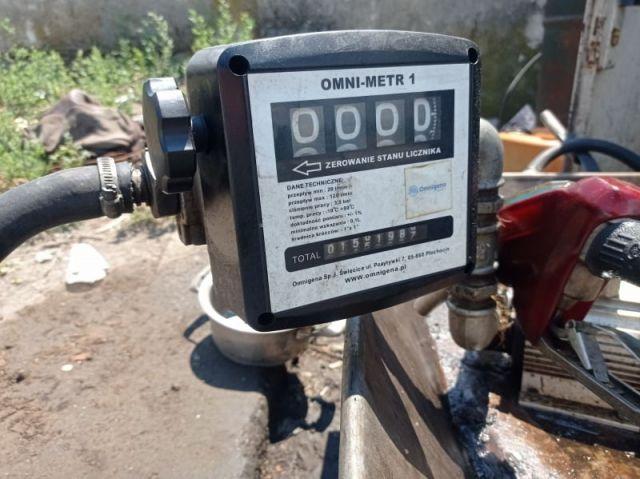 Иззеха гориво от паркинг, превърнат в нелегална бензиностанция (СНИМКИ)