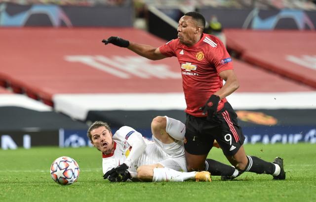 Ман Юнайтед продължава да гази в Шампионската лига, разпиля РБ Лайпциг (ВИДЕО)
