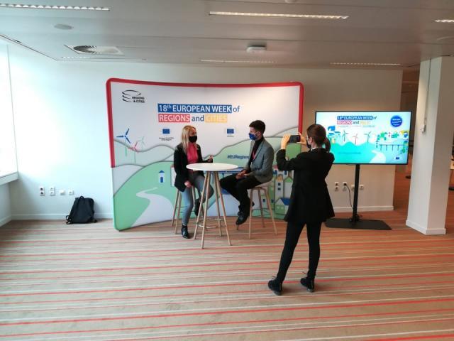 Кристина Димова пред ФАКТИ - какво е да си финалист за награда на ЕК за най-добър обещаващ млад журналист в Европа