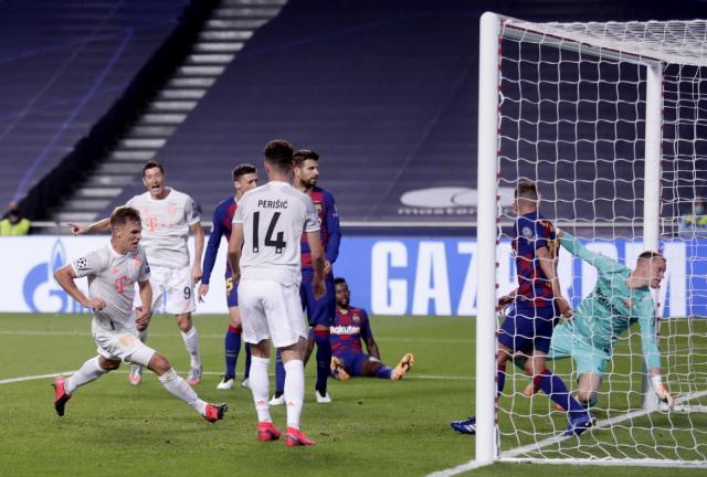 Байерн Мюнхен буквално унищожи Барселона - 8:2 (ВИДЕО)