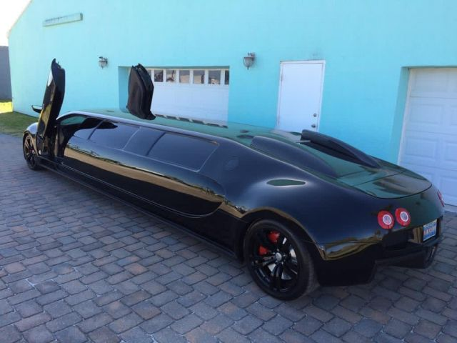 Открихме невероятна стреч лимузина Bugatti
