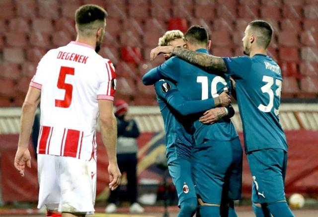 Цървена звезда не се даде на Милан дори с 10 души