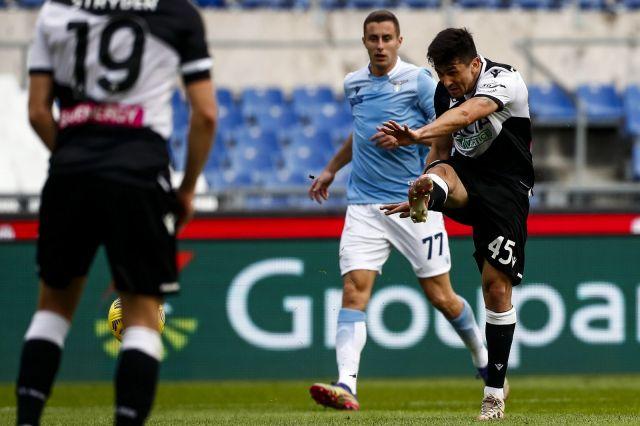 Удинезе наказа Лацио и сложи край на мачовете им без загуба в Италия