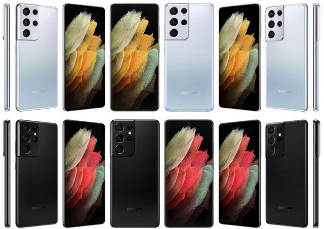 Първи изображения на Samsung Galaxy S21
