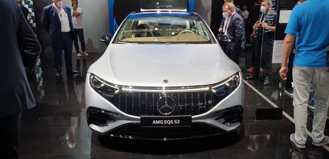 Първото електрическо AMG дебютира със 751 конски сили и 554 нютон метра