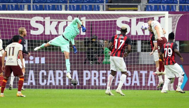 Милан и Рома с голов спектакъл на