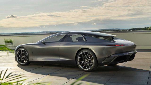 Audi Grandsphere дебютира с изящен дизайн и 710 конски сили