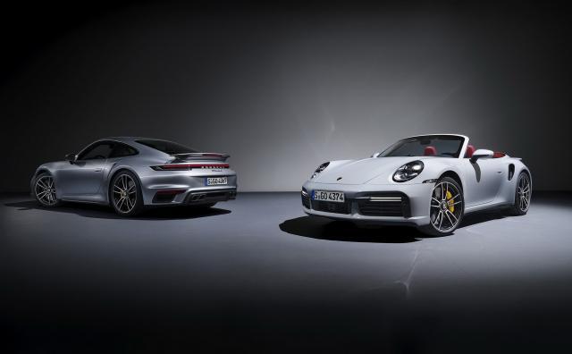 Ето го новото Porsche 911 Turbo S