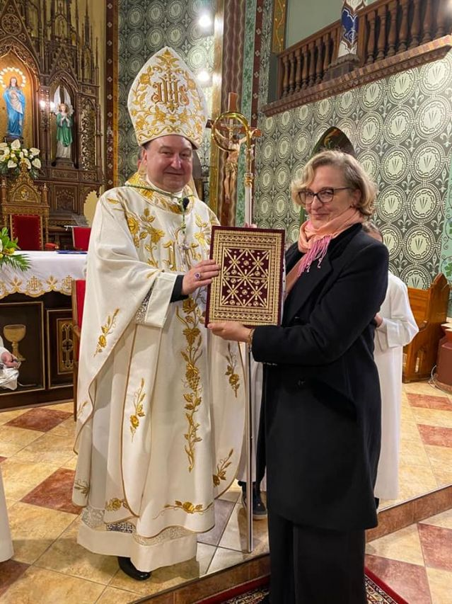 Посланикът на Малтийския орден поздрави епископ Каваленов