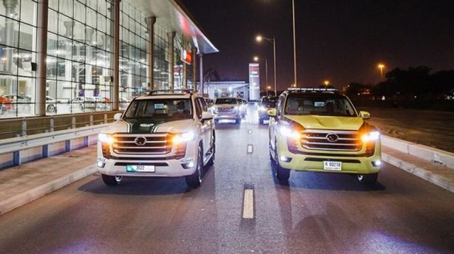 Най-новата Toyota Land Cruiser се присъединява към полицията