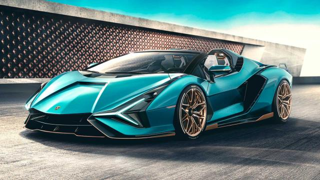 Lamborghini представи супер лимитирания и мощен Sian Roadster