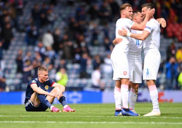 UEFA EURO 2020 Чехия победи Шотландия с 2:0, феноменален гол отбеляза Патрик Шик