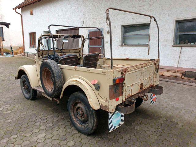 В Германия се продава съветски ГАЗ-69 с дизелов двигател и без документи