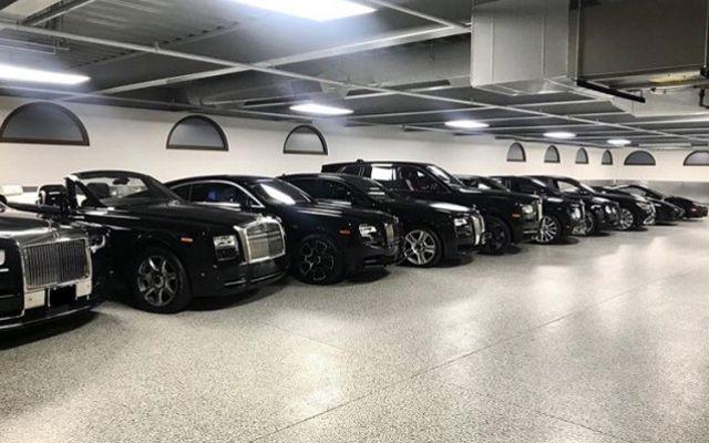 Флойд Мейуедър си купи още девет автомобила
