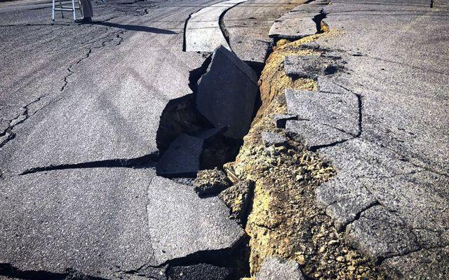 Земетресение в Япония унищожи култова писта заедно с куп автомобили