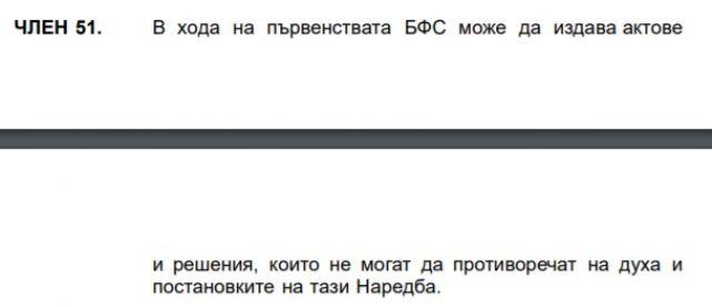 Наредбата на БФС гласи: Промяната на формата на първенството е незаконна