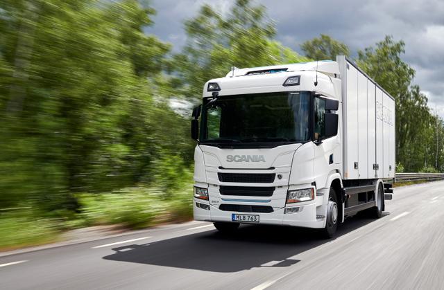 Това е първата електрическа Scania (ВИДЕО)