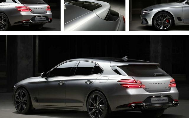 Hyundai представи спортно комби, конкурент на Porsche Panamera Sport Turismo