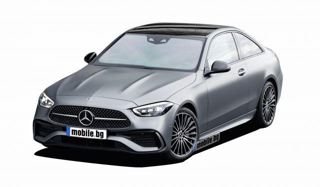 Ето как би изглеждала новата C-Klasse Coupe