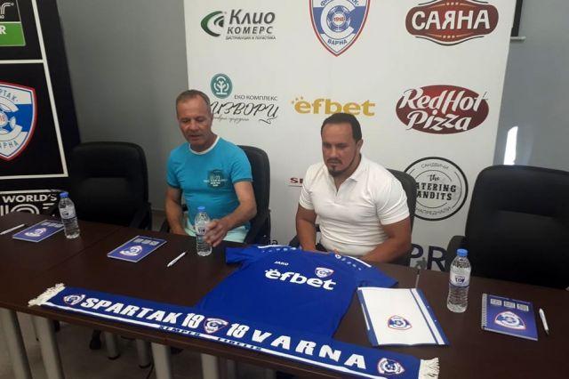 Спартак Варна обяви нов собственик и бомбастичен бюджет за новия сезон