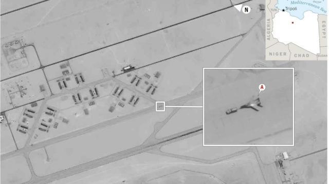 Русия изпрати изтребител в Либия, но преди това го пребоядиса в Сирия