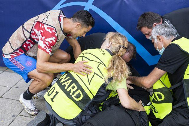 Кристиано Роналдо сътвори инцидент (СНИМКИ)