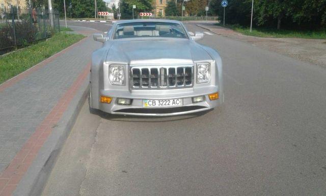 Украинец превърна Jeep в нереален кабриолет