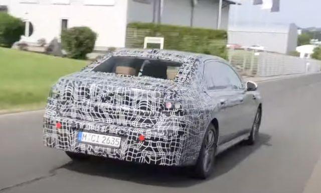 BMW тества електрическата 7 Series (ВИДЕО)
