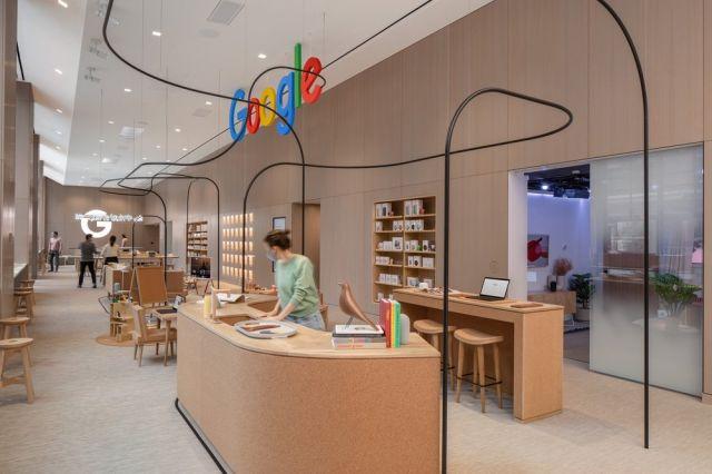 Google отвори първия си физически магазин