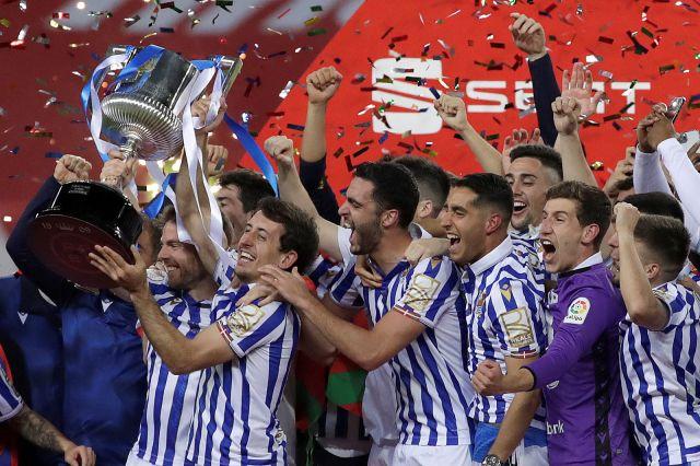 Реал Сосиедад триумфира с Купата на Краля (ВИДЕО)